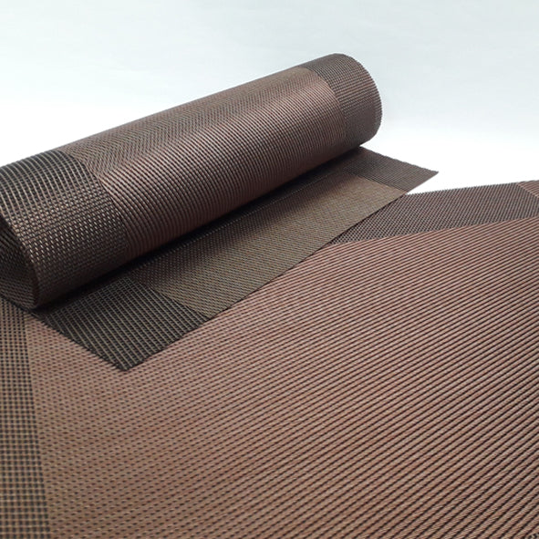 Placemat - Border Brown (Set Of 4)