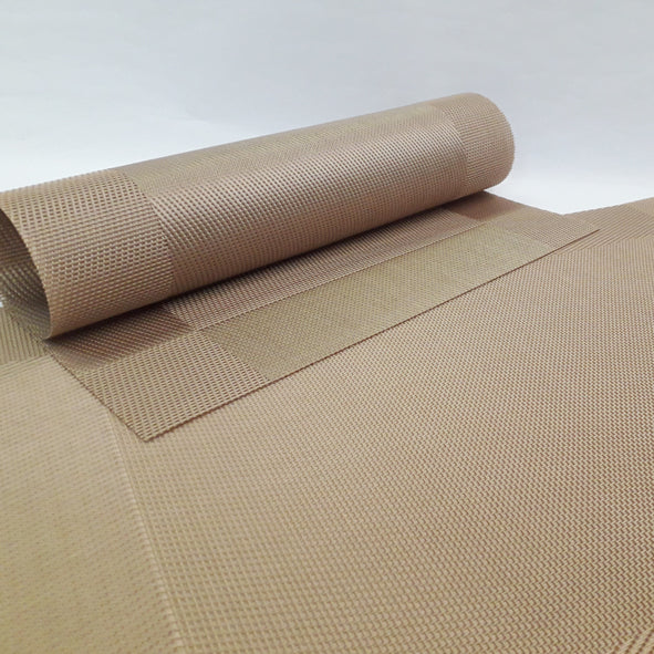 Placemat - Border Gold (Set Of 4)