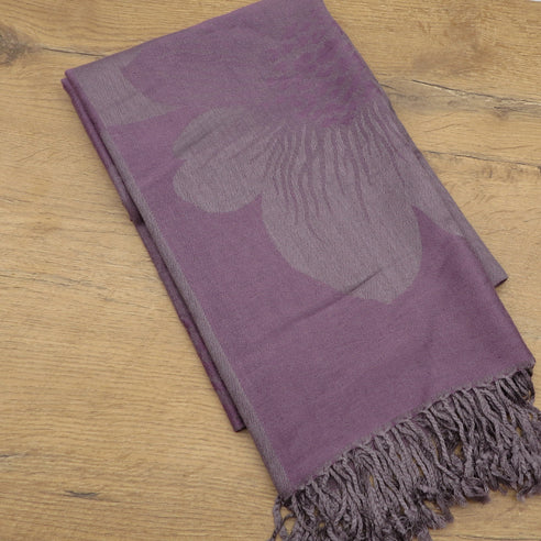 ALCEA GRAPE SCARF