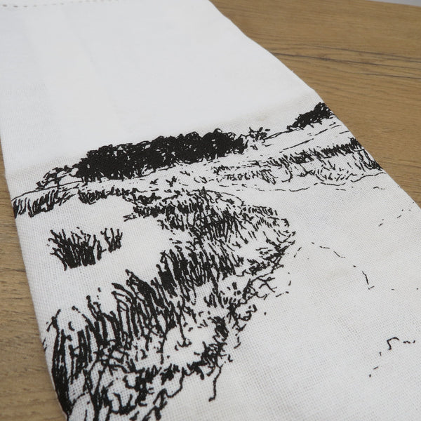 LANDSCAPE TEA TOWEL  38X60