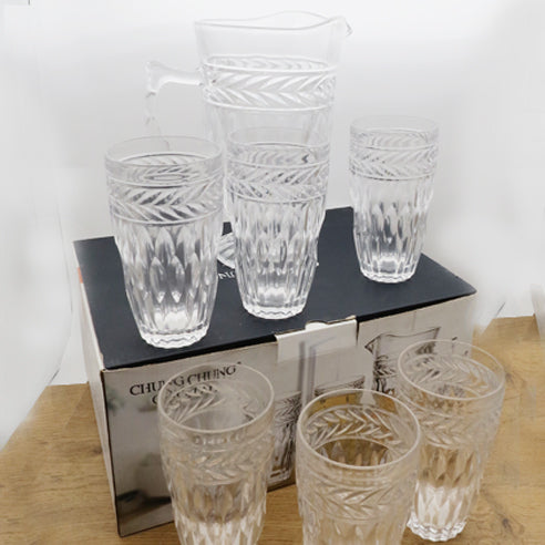 Water Crystal Set - 7 Piece