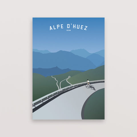 Cycling Gift for Dad - Alpe dHuez