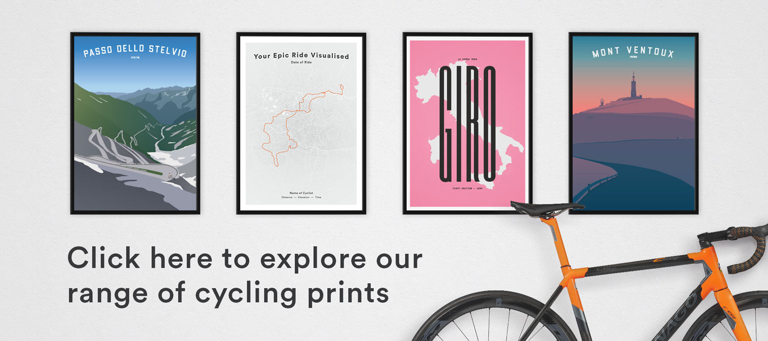 Explore our range of cycling prints