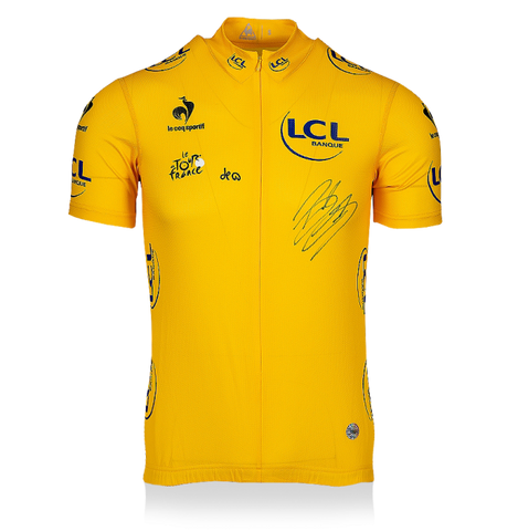 Signed Yellow Jersey - Gift for Tour de France Fan