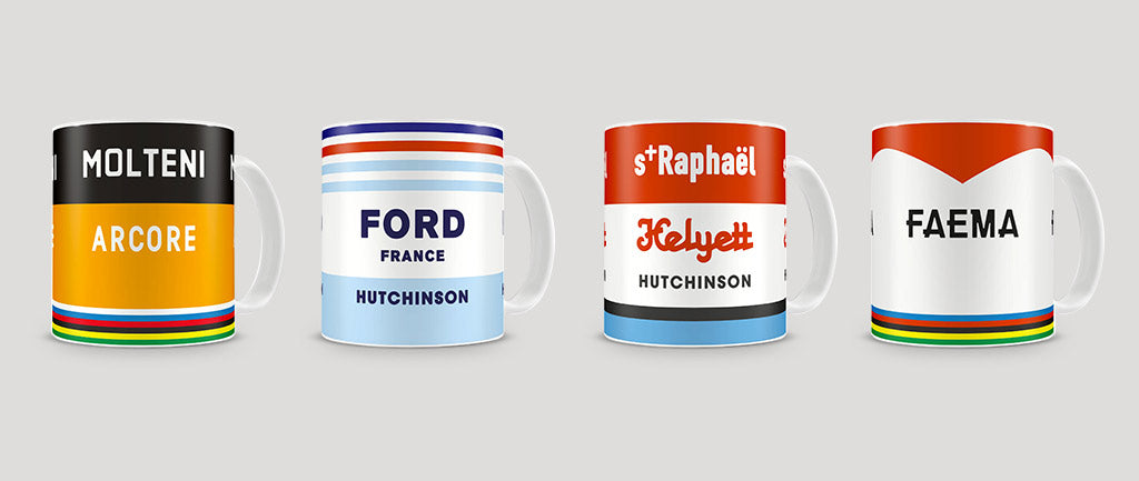 English Cyclist Mug Gift - Retro Inspired