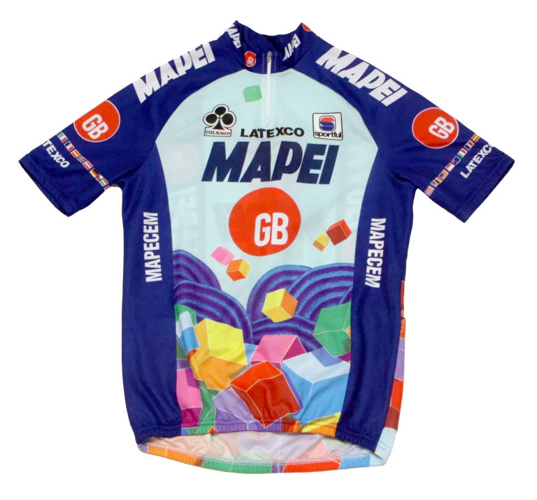 Mapei Jersey – English Cyclist