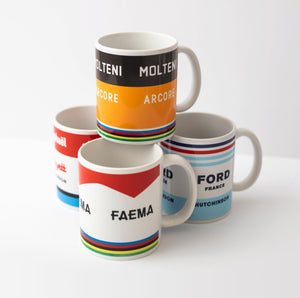 Iconic mugs — Set of 4 - Cycling Gift - The English Cyclist