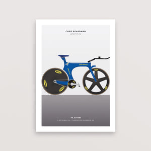 Chris Boardman Hour Record