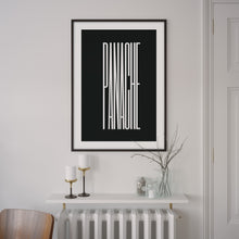 Load image into Gallery viewer, Panache Poster – Minimal Artwork for Cycling Aficionados - English Cyclist