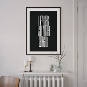 It never gets easier you just get faster – Greg LeMond Poster – Gifts for Cyclists by the English Cyclist