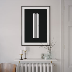 Tour Poster – Gifts for Cyclists by the English Cyclist