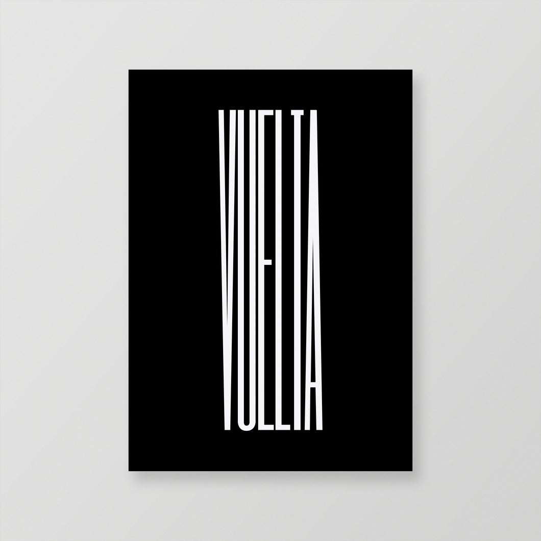 La Vuelta Poster – Gifts for Cyclists by the English Cyclist