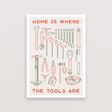 Home Is Where The Tools Are