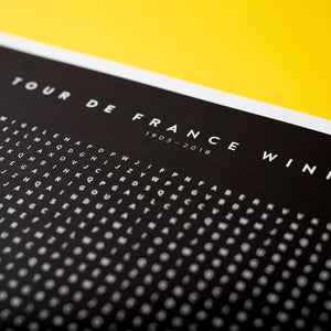Tour De France — Winners Word Search - Cycling Gift - The English Cyclist