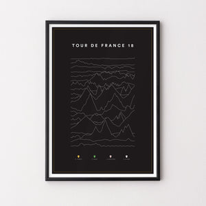 Grand Tour Posters – Vuelta, Giro and Tour De France 2018 - English Cyclist