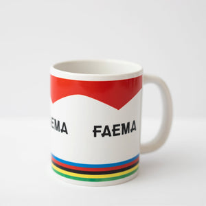 Faema – Iconic Tour de France Winners Mugs — Set of 4 — The English Cyclist
