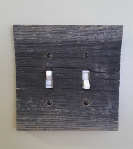 Barn Board Switch and Outlet covers