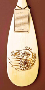 Decorative Haida Art Paddle