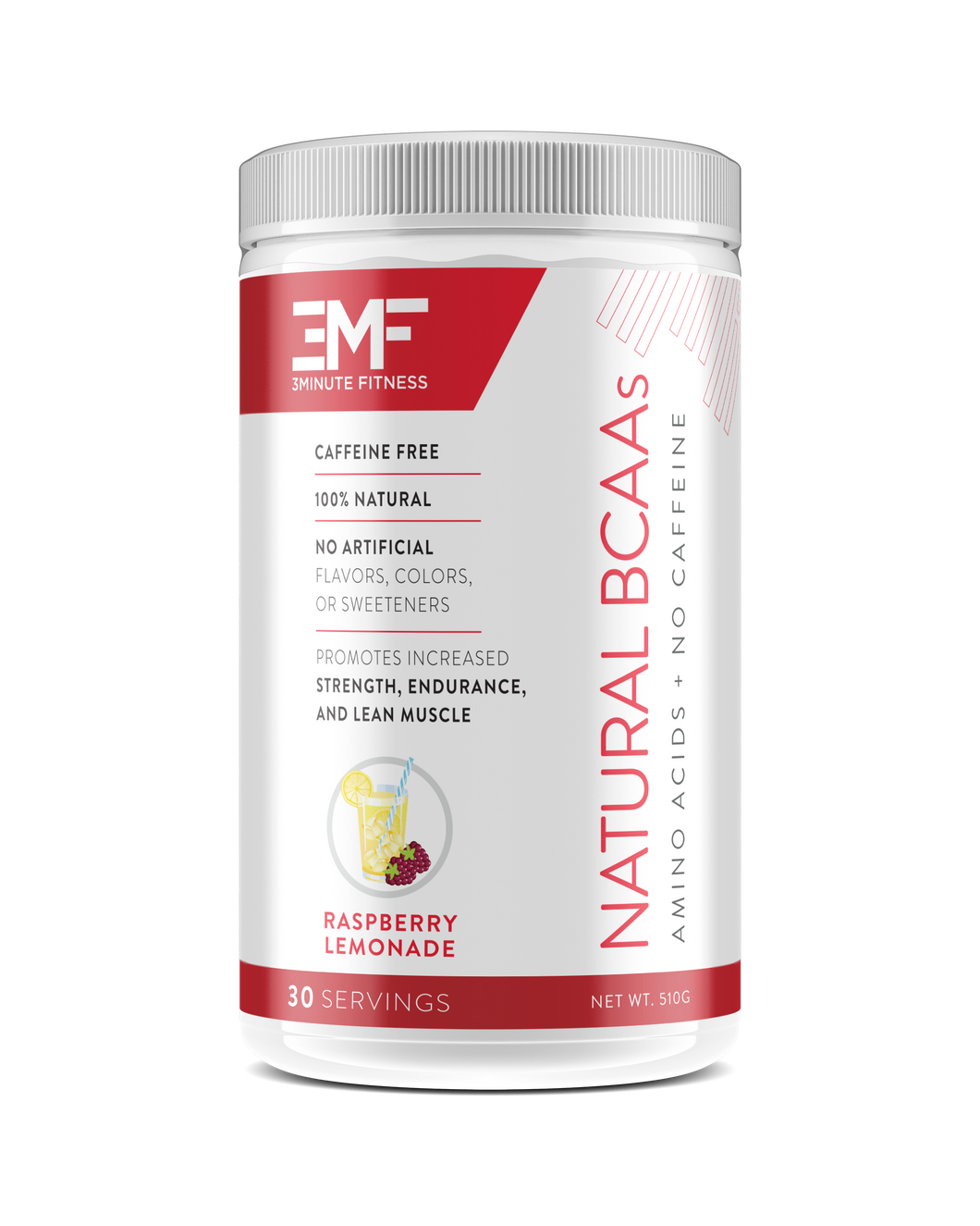 3MF Natural BCCAs: Raspberry Lemonade