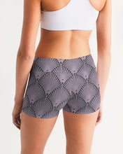Load image into Gallery viewer, Yoga Shorts in Deco Dot