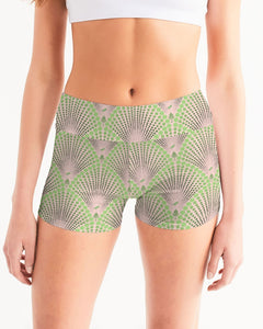 Yoga Shorts in Deco Dot BLUSH