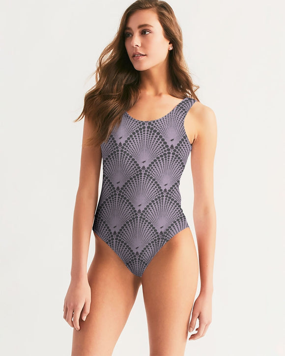 Deco Dot Women's One-Piece Swimsuit
