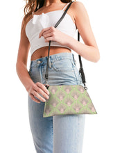 Load image into Gallery viewer, Deco Dots BLUSH Wristlet