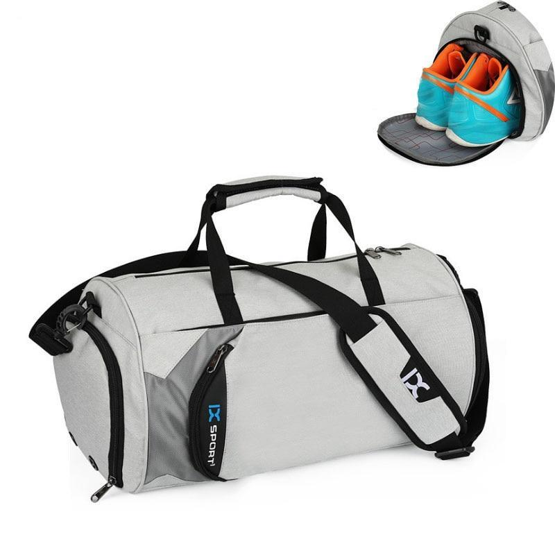 Mens Gym Bag W Shoe Compartment Fast Pace Fitness