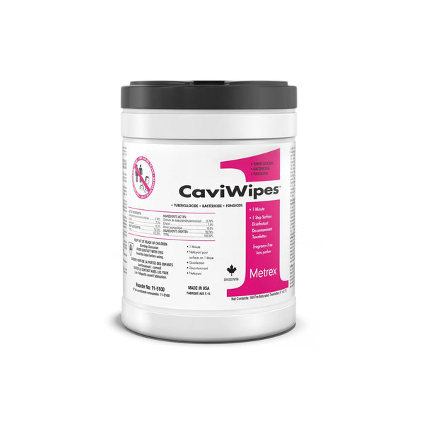 TEMPORARILY UNAVAILABLE - CaviWipes1, 1 Minute/1 Step Surface Disinfectant Wipe