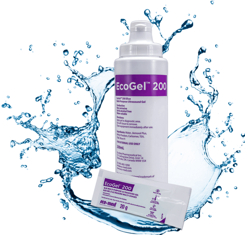 EcoGel™, Ultrasound Gel, Clear, 5L