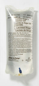 Baxter Lactated Ringer Injection USP 1000ml -  12/box