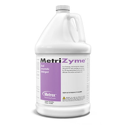 MetriZyme Highly concentrated dual enzymatic detergent - 1 Gallon, 4/box