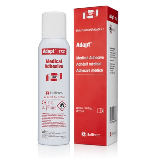 Hollister Adapt Medical Adhesive Spray, 3.8 oz (112 ml) 360 degree spray can