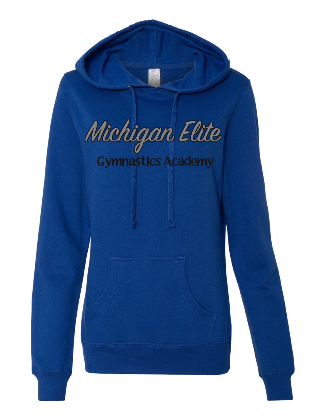 Michigan Elite Gymnastics Academy - Ladies Cobalt Hoodie