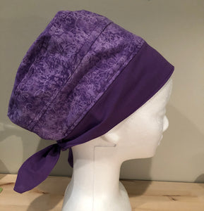 Euro/Turban Style Head Covers - various fabric patterns