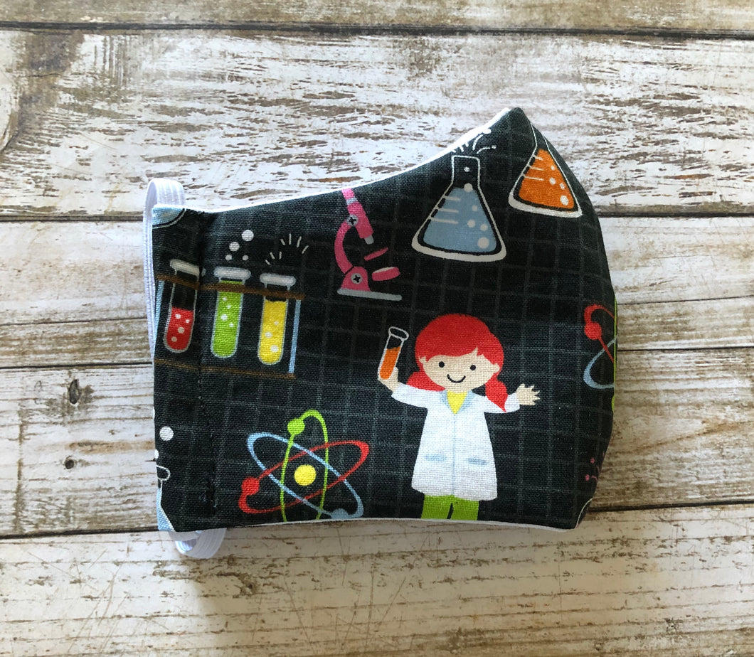 Girls in Science - Family Face Covers-3 ply Face Covers