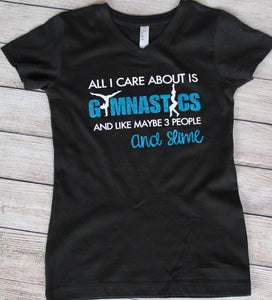 Girls Gymnastics & Slime T-Shirt