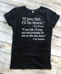 Gymnastics Shirt - Fall Floor & Beam