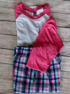 Loungewear - 3/4 Sleeve & Flannel Pants
