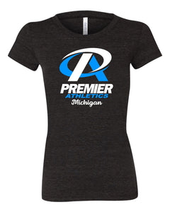 Premier Athletics Michigan - Fitted Short Sleeve T-Shirt