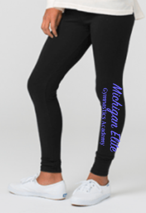 Michigan Elite Gymnastics Academy Love 'Em Longer Leggings
