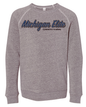 Load image into Gallery viewer, Michigan Elite Gymnastics Academy - Youth Crew Neck Sweatshirt