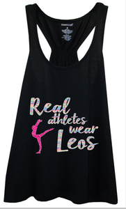 Real Athletes Wear Leos Flowy Tank Top