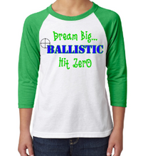 Load image into Gallery viewer, Ballistic Adult Custom Raglan Style Top