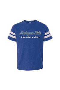 Michigan Elite Gymnastics Fine Jersey Tee - Smaller Child Size