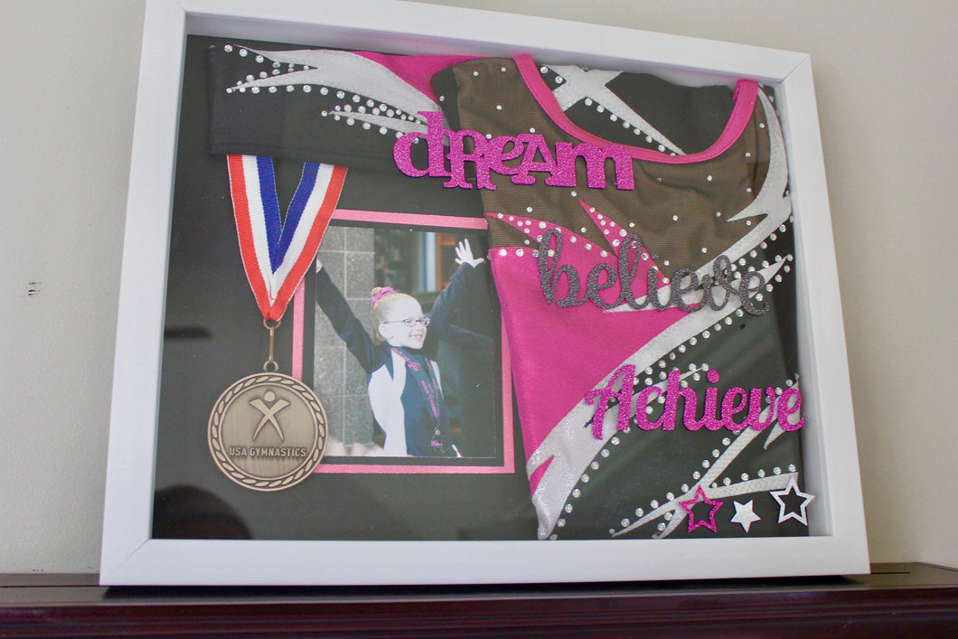 Gymnastics Medal Shadow Box