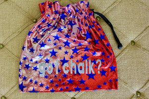 Gymnastics Personalized Grip Bag, Gymnast Gift, gym bag, handmade bag, makeup bag, small drawstring bag, custom bag, cinch sack