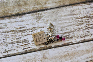 Those Who Reach for the Stars Gym Bag Charm
