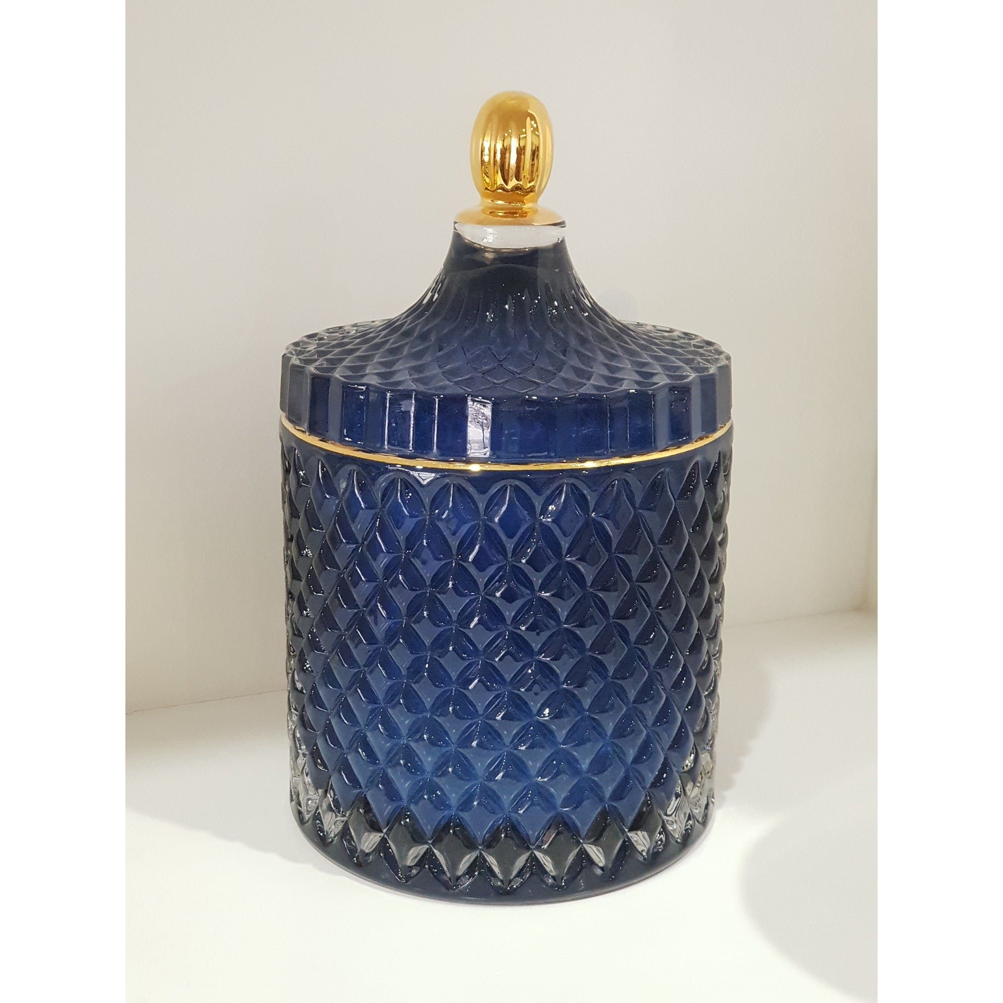 Royal Geometric Candle
