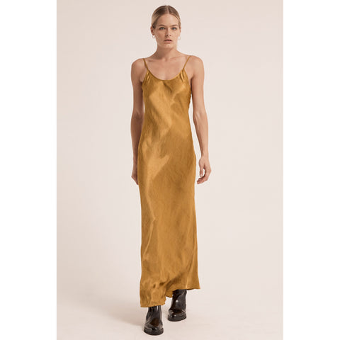 Running Water Bias Slip Dress